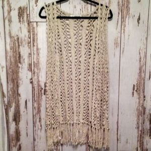 Maurices Other - Maurices Long Vest/fringe